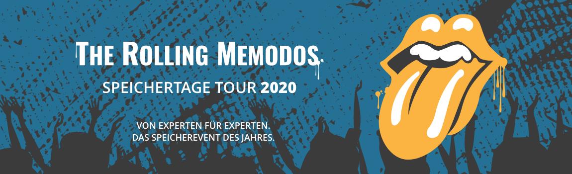 Memodo Speichertage 2020 kostenlos anmelden Banner